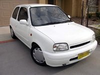 White Knight - 1995 Nissan Micra LX